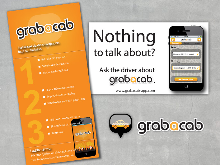 grabacab marketing collateral