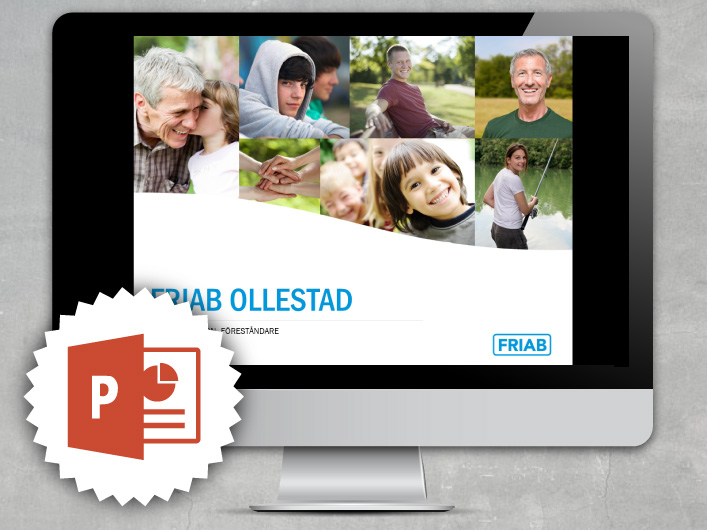 powerpoint template for friab