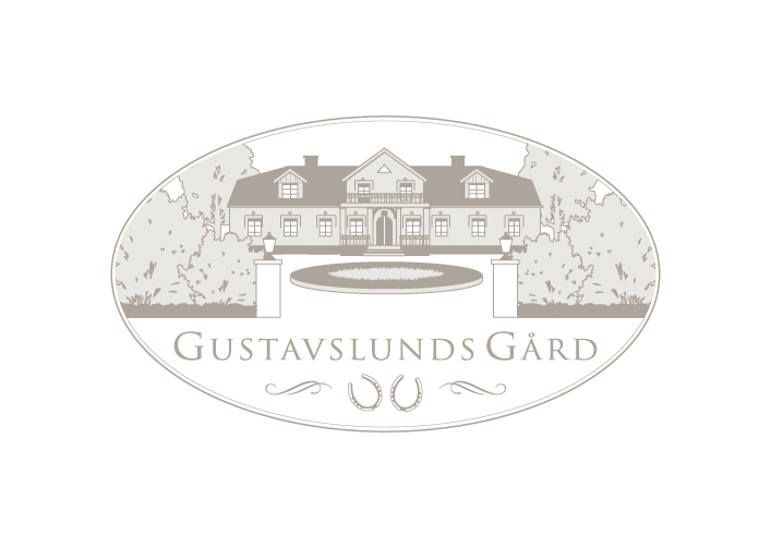 gustavslunds gard logo design by kanja