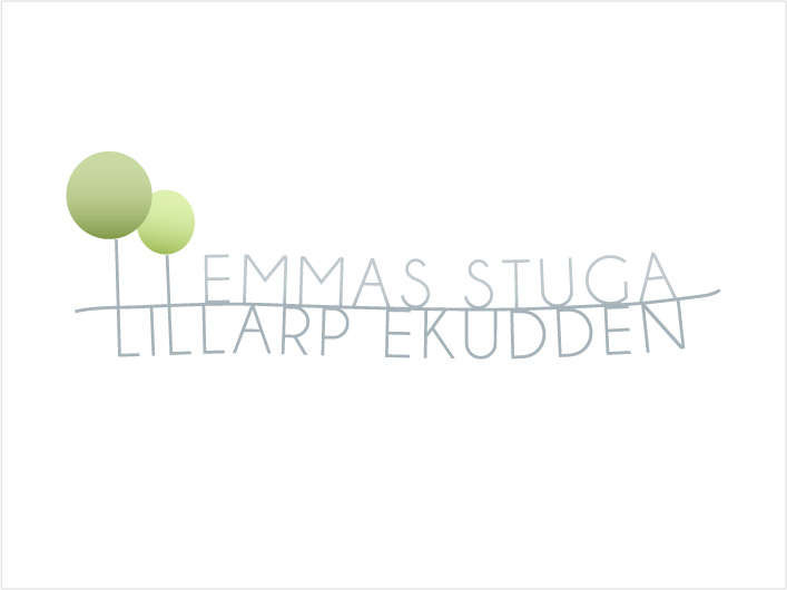 Lillarp Ekudden logo design by kanja
